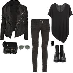 estilo casual look camiseta preta 3