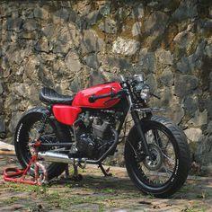 Honda GL160 #caferacer discover #motomood