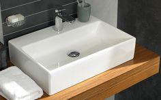 Créez la salle d'eau qui vous ressemble avec la vasque Memento vasque à poser de Villeroy & Boch disponible dans votre magasin Espace Aubade