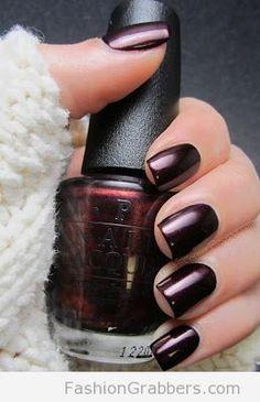 Luxurious dark berry shade for winter