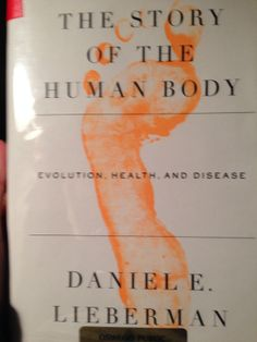 Very interesting, all about how we evolved.  Also what happens to your body as you eat certain things, and how we should all be eating like our ancestors.