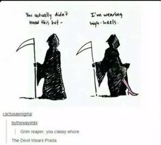Grim reaper funny pics, funny gifs, funny videos, funny memes, funny jokes. LOL Pics app is for iOS, Android, iPhone, iPod, iPad, Tablet