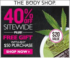 THE BODY SHOP $$ Reminder: Save 40% off Sitewide + FREE Gift With $50 Purchase – Ends SUNDAY (2/23)!