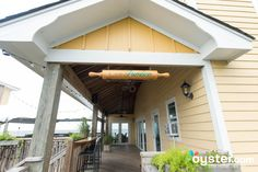 Outdoor and Porch  Dining at Cafe Pamlico at The Inn on Pamlico Sound