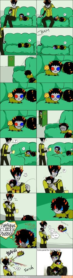 omg, they're so cute. Captor family is probably my favorite... that or the vantas family or nepetas family!!!