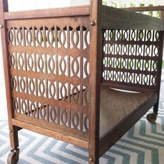Step by step guide on how to #refurbish an old piece of furniture #DIY