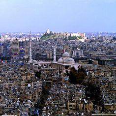 Aleppo 2011, general view of Aleppo.