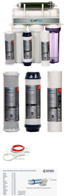 Reverse Osmosis and Deionization 77658: 5 Stage Aquarium Reef Reverse Osmosis Water Filtration System (Ro Di) | 75 Gpd -> BUY IT NOW ONLY: $89.99 on eBay!