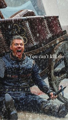 Ivar fuking lunatic!