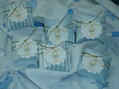 Caixinha personalizada para brinde de Batismo Cuntom Gift box