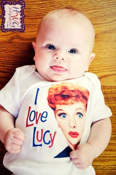 i love lucy. when I have a baby, they will HAVE to have this.