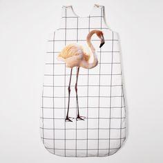 Modern sleepwear for modern babes - flamingo accessory! Newborn Outfits, Kids Outfits, Newborn Clothing, Little People, Little Ones, Mega Sena, My Bebe, Kids Prints, Kid Styles