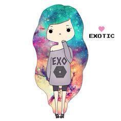 I need to make a piece out of this. EXO, galaxy | Tumblr