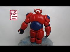 How to make Big Hero 6 Baymax Cake Topper out of fondant Tutorial on Cake Central