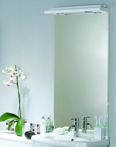 Bathroom mirror with lights.  http://www.worldstores.co.uk/p/Denia_Mirror_with_Denia_Lights.htm
