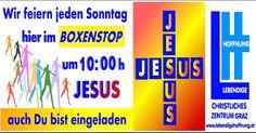 Gottesdienst jeden Sonntag ab 10:00 Uhr bei uns im Boxenstop
