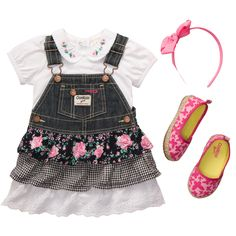 Flowers & Lace | Outfits The World's Best this outfit is super cute but they dont have it in the size I need...too bad