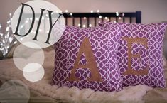 diy pillows - Google Search/ lifeannstyle.com / http://lusciouslivingtoday.com/diy-pillows/
