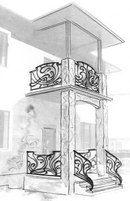 Эскизы Stair Railing Design, Iron Windows, Iron Gates, Flower Designs, Ceiling Lights, Steel, Creative, Doodle, Artwork
