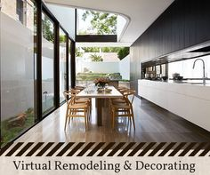Virtual Remodeling and Redecorating, It is now possible to view an amazing selection of decorating options by working with the free design software offered on many home-store web sites, and Apps.