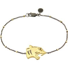 """Missoma® Panther 7.5"""" Chain Bracelet for Courage"""