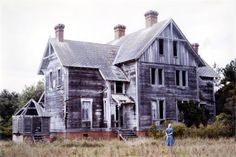 Outer Banks Throwback: Currituck Beach Lighthouse Keepers' House 1980
