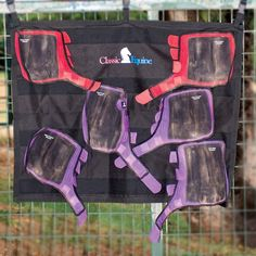 A convenient solution that holds boots securely in place during washing. Allows boots to dry quickly and thoroughly. Long lasting nylon material holds up to repeated washing. Four rows of hook-and-loop material holds several pairs of boots at once. Black.