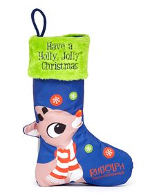 7ccd808ae82 Rudolph the Red-Nosed Reindeer LED Stocking Rudolph The Red