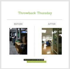 Before: Bluethumb Office under Renovation After: The Bluethumb Office today  What do you think?  www.bluethumbcreatives.com  #branding #creative #tbt #throwback #oldoffice #renovation #idea #2ndhome