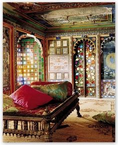 Lovely mysterious moroccan bedroom designs home design ideas Moroccan Bedroom, Moroccan Decor, Moroccan Style, Indian Bedroom, Indian Style, Moroccan Lounge, Moroccan Kitchen, Arab Style, Moroccan Lanterns