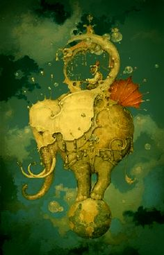 Daniel Merriam - to me he is a favorite like Maxfield Parrish is a favorite. His work is beautiful.- I need a piece one day