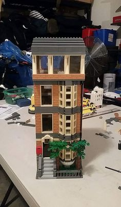 Collection of lego old buildings photos