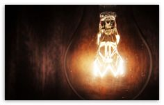 Light Bulb HD desktop wallpaper : Widescreen : High Definition : Fullscreen : Mobile
