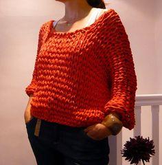 Knit. Hoooked Zpagetti. Sweater.