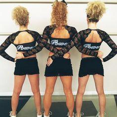 Arizona Power Cheerleading Hair