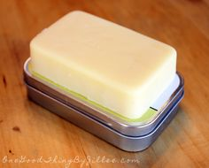 Make your own Lotion Bars! 3 simple ingredients....GREAT for DRY skin!