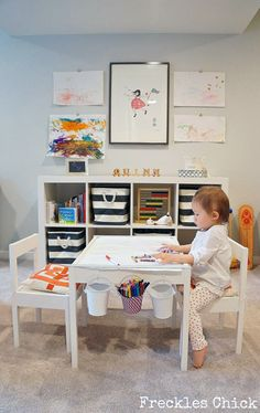 Playroom-Home-Decor-Ideas/ playroom table, ikea kids playroom, playroom . Ikea Kids Playroom, Playroom Table, Toddler Playroom, Office Playroom, Playroom Decor, Playroom Ideas, Ikea Kids Table, Playroom Design, Ikea Toddler Table