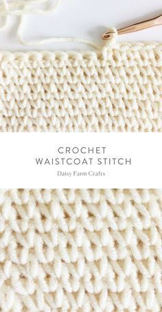 How to crochet the w