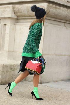 #socks with #heels ♥ : #lovewearyoulive
