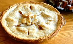 How to make Easy Peach Pie! With canned peaches! Delicious and quick!