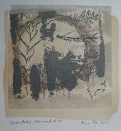 ...'spurn marks: seaweed #10', Alice Fox 2012