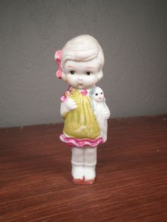 Vintage Bisque Doll by hopsack on Etsy, $9.50