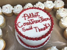 Sweetening the holiday season for our vendors! Thank you to DWM & Rental Home Management for an awesome year. ♥️ Thank you to Dreamcakes by Elaine for the yummy cakes! 🍰 #VendorAppreciation #TipTuesday #PellotConstruct