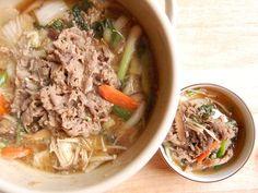 Bulgogi Jeongol (불고기 전골) - Three Dishes in One - http://www.shinshine.com/my-blog/2013/03/bulgogi-hotpot.html#