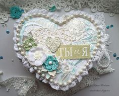 Beautiful...love the little crocheted flowers!!