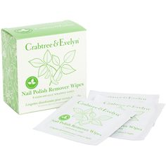On the go! Crabtree & Evelyn Nail Polish Remover Wipes