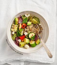 ... salad with quinoa & mint   food   Pinterest   Herbs, Quinoa and Salads