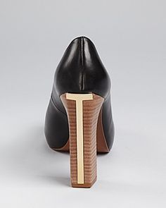 Tory Burch Cantrelle high heel - love these in tan