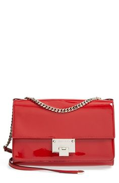 a0bcbc4bd09e Jimmy Choo  Rebel  Patent Leather Shoulder Bag available at  Nordstrom My  Bags