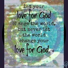 Make Me Strong in Your Love and Your Light our Lord! AMEN